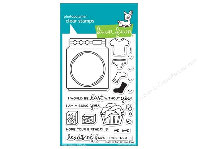Lawn Fawn Clear Stamp Loads of Fun