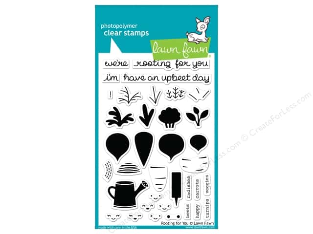 Lawn Fawn Clear Stamp Rooting for You