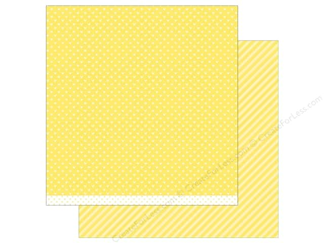 Lawn Fawn 12 x 12 in. Paper Let's Polka In the Meadow Dandelion Line Dance (12 sheets)