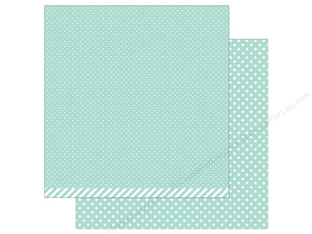 Lawn Fawn 12 x 12 in. Paper Let's Polka In the Meadow Dew Drop Polka (12 sheets)