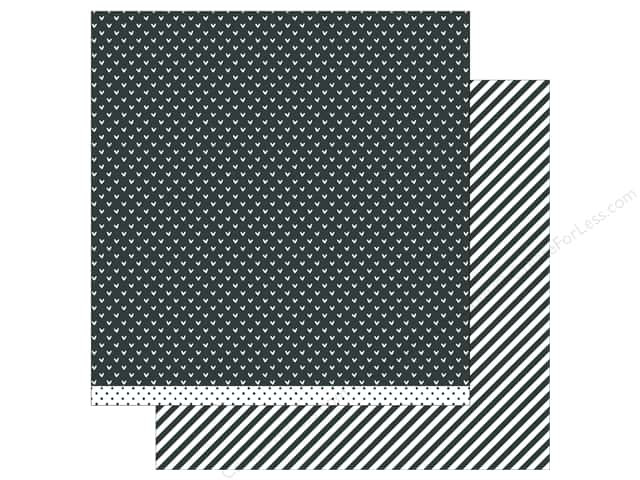 Lawn Fawn 12 x 12 in. Paper Let's Polka In the Meadow Baby Skunk Line Dance (12 sheets)
