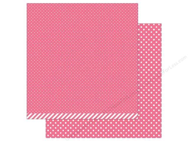 Lawn Fawn 12 x 12 in. Paper Let's Polka In the Meadow Wildflower Polka (12 sheets)