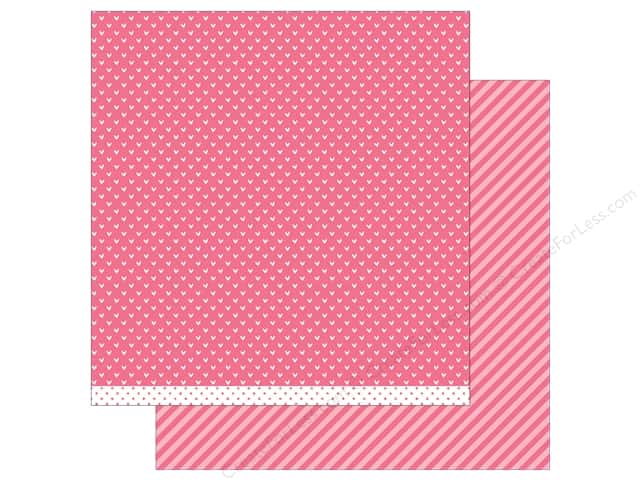 Lawn Fawn 12 x 12 in. Paper Let's Polka In the Meadow Wildflower Line Dance (12 sheets)