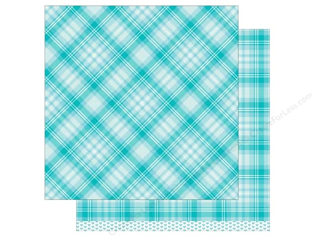 Lawn Fawn 12 x 12 in. Paper Perfectly Plaid Daniella 12 pc. (12 sheets)