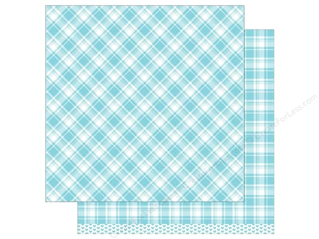 Lawn Fawn 12 x 12 in. Paper Perfectly Plaid Nancy 12 pc. (12 sheets)