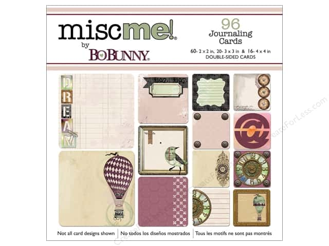 Bo Bunny Misc Me Journaling Cards Beautiful Dreamer