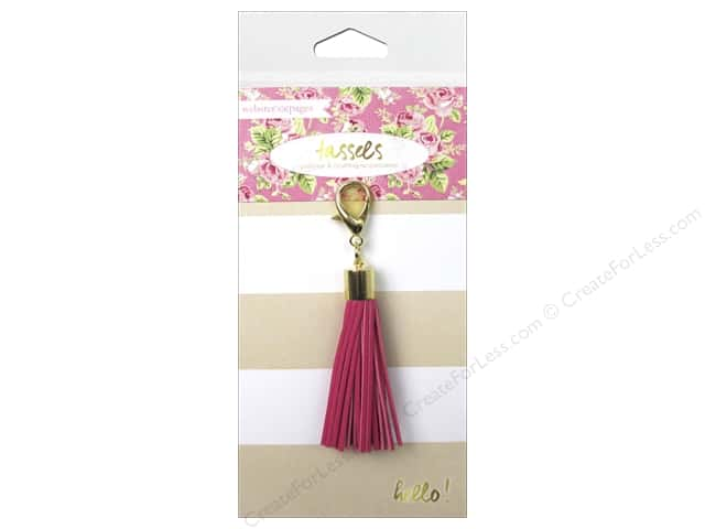 Webster's Pages Color Crush Charm Tassel Pink