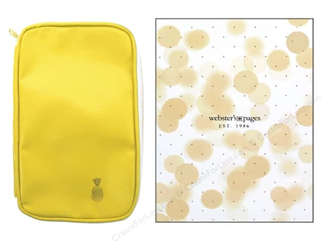 Webster's Pages Color Crush CraftMate Folio Yellow