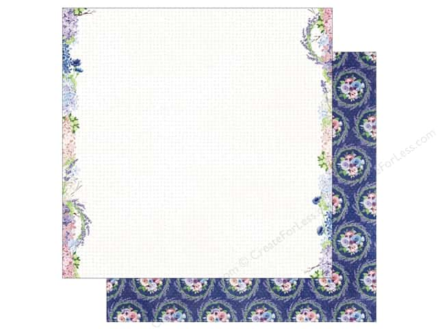 Bo Bunny 12 x 12 in. Paper Secret Garden Collection Vineyard (25 sheets)