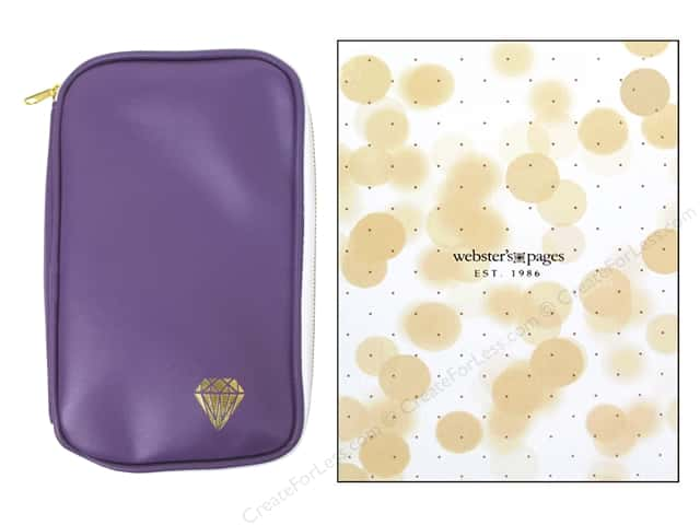Webster's Pages Color Crush CraftMate Folio Purple