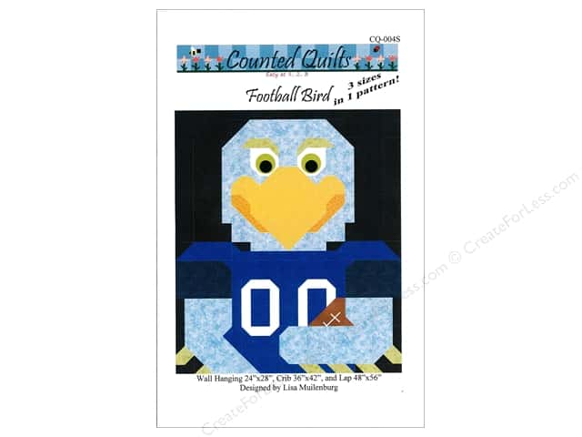 Counted Quilts Football Bird Quilt Pattern