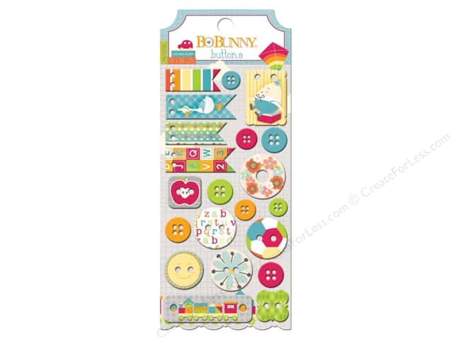 Bo Bunny Buttons 21 pc. Toy Box