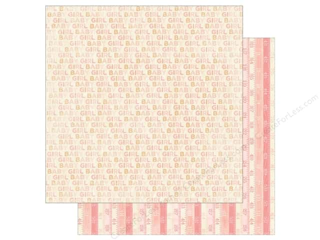 Authentique 12 x 12 in. Paper Cuddle Girl One (25 sheets)