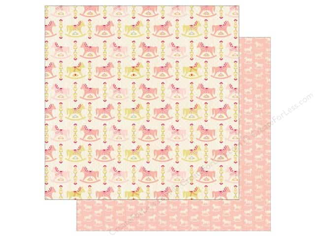 Authentique 12 x 12 in. Paper Cuddle Girl Two (25 sheets)