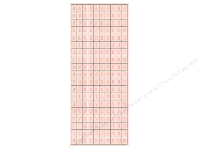 Authentique Stickers Cuddle Girl Petite Type (12 sheets)