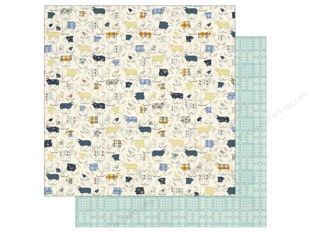Authentique 12 x 12 in. Paper Homestead Grassland (25 sheets)