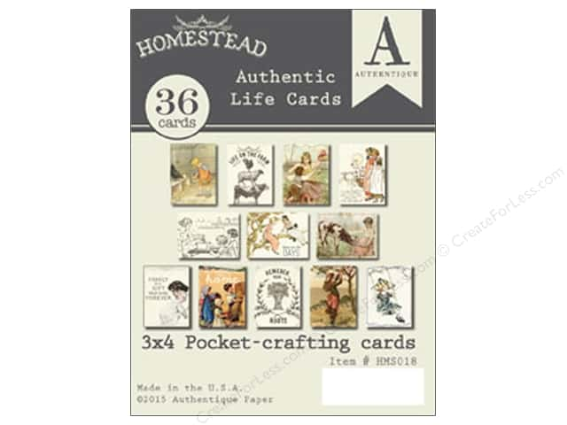 Authentique Authentic Life Cards Homestead