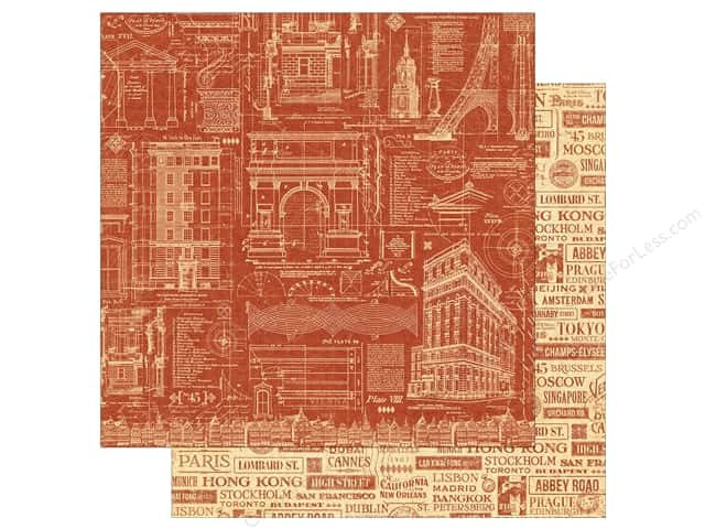 Graphic 45 12 x 12 in. Paper Cityscapes Street Of Dreams (25 sheets)