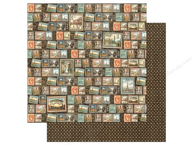 Graphic 45 12 x 12 in. Paper Cityscapes Well Traveled (25 sheets)