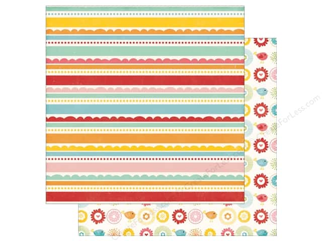 Echo Park 12 x 12 in. Paper Happy Summer Collection Perfect Day (25 sheets)