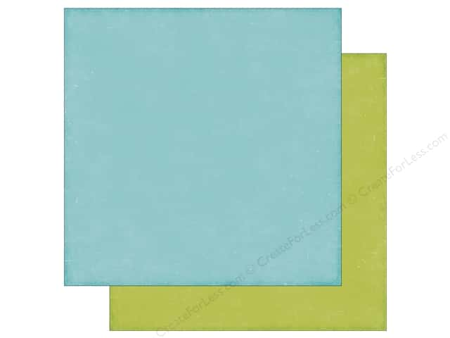 Echo Park 12 x 12 in. Paper Happy Summer Collection Blue/Green (25 sheets)