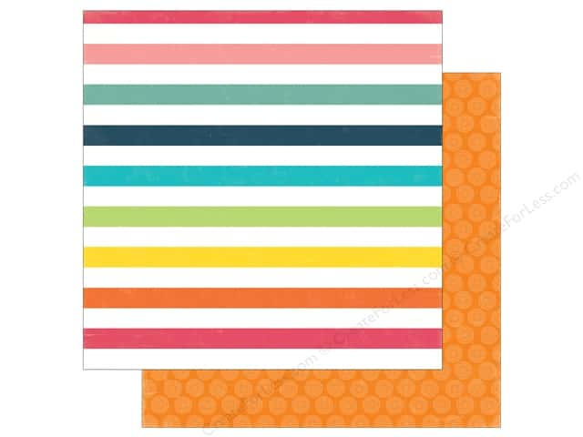 Echo Park 12 x 12 in. Paper Summer Party Collection Sunshine Rays (25 sheets)