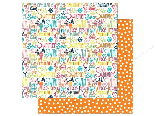 Echo Park 12 x 12 in. Paper Summer Party Collection Beach Love (25 sheets)