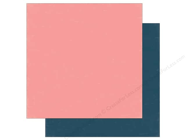 Echo Park 12 x 12 in. Paper Summer Party Collection Light Pink/Dark Blue (25 sheets)