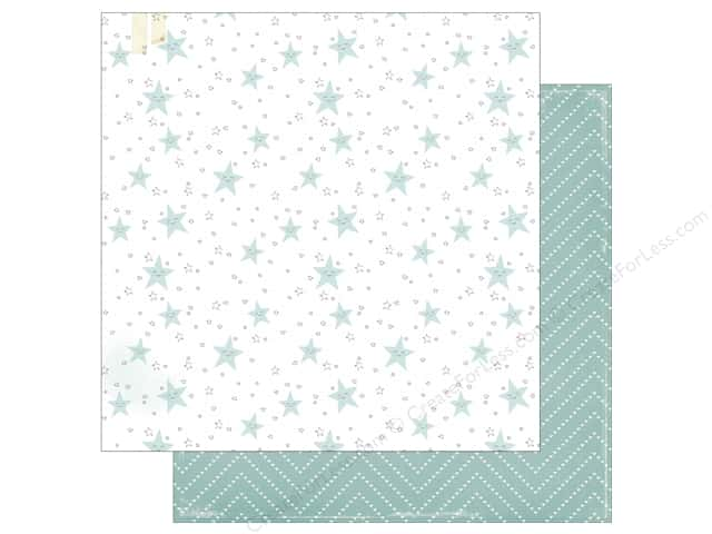 Crate Paper 12 x 12 in. Paper Little You Little Toes (25 sheets)