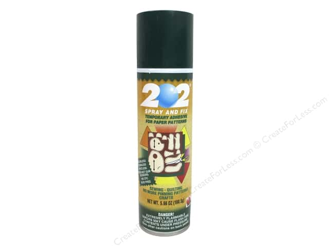 Odif Adhesive 202 Spray & Fix Temporary for Patterns 5.66oz