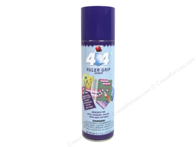 Odif 404 Spray & Fix Permanent Adhesive Ruler Grip 6.11oz