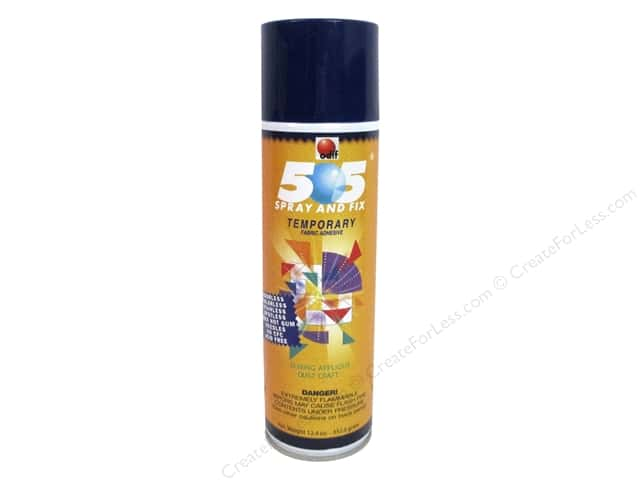Odif 505 Spray & Fix Temporary Adhesive Fabric 12.4 oz