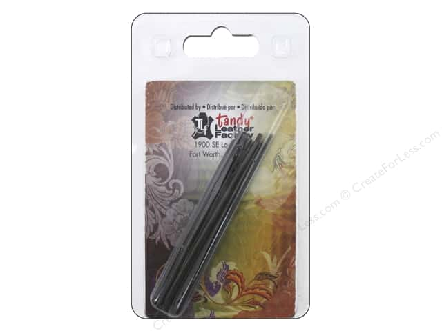 Tandy Leather 2-Prong Lacing Needle 10 pc.