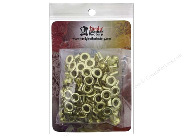 Leather Factory Eyelet 3/16 in. Brass 100 pc.