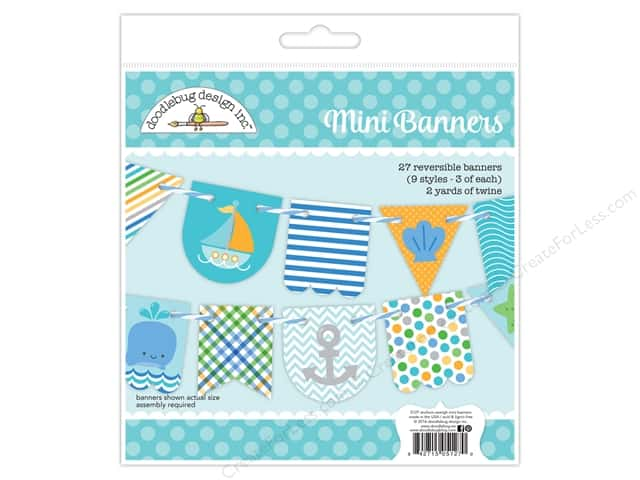 Doodlebug Craft Kit Anchors Aweigh Banner