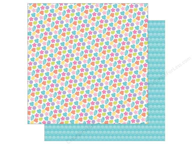 Doodlebug 12 x 12 in. Paper Under The Sea Beach Treasures (25 sheets)