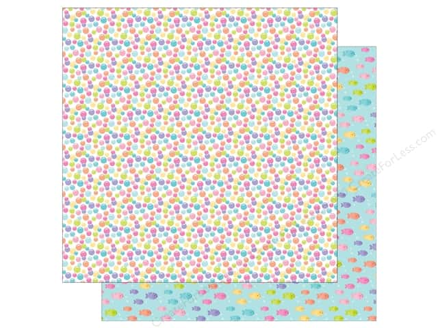 Doodlebug 12 x 12 in. Paper Under The Sea Rainbow Bubbles (25 sheets)