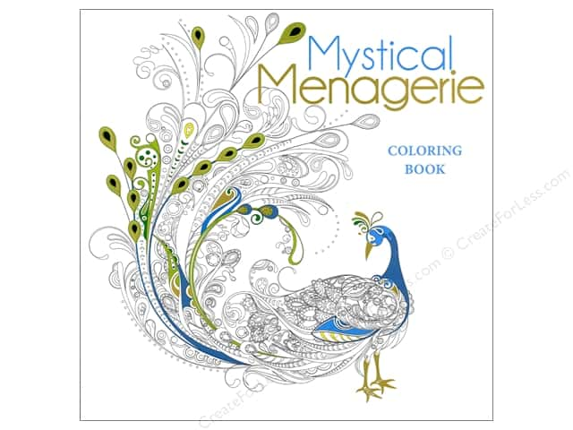 Lark Mystical Menagerie Coloring Book