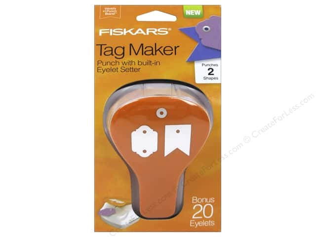 Fiskars Punch Craft Tag Maker II Banner/Artisan