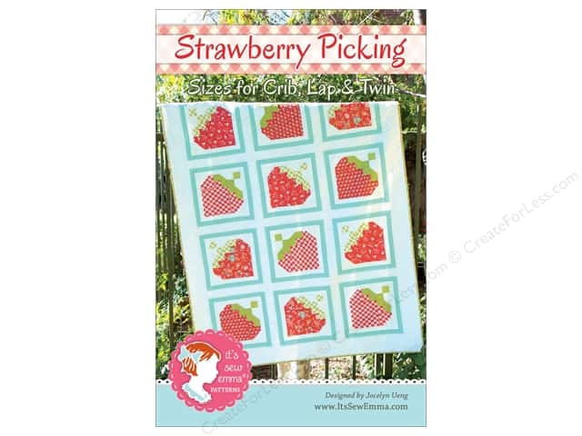 It's Sew Emma Strawberry Picking Pattern
