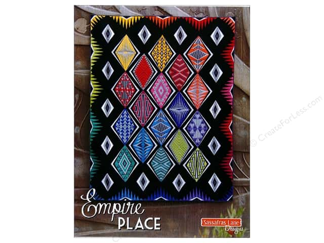 Sassafras Lane Designs Empire Place Contemporary Art Deco Quilt Pattern Book