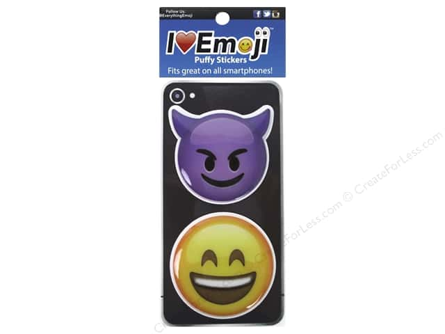 Everything Emoji Puffy Stickers Set 4