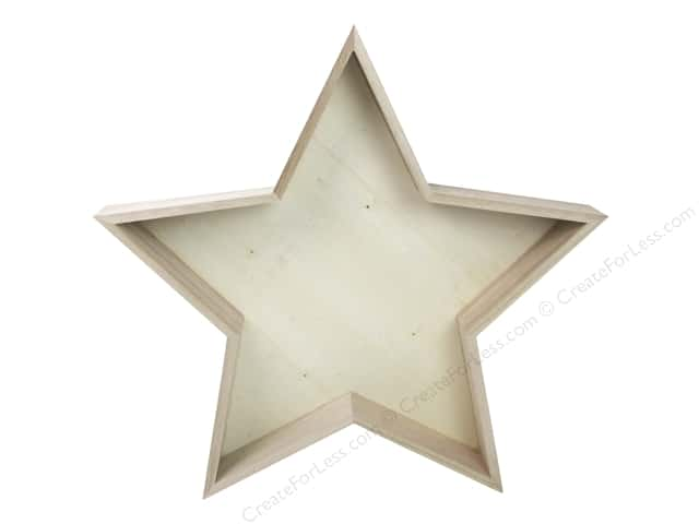 Sierra Pacific Crafts Wood Star Unfinished