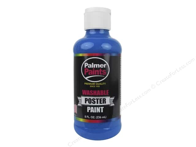 Palmer Washable Poster Paint 8 oz. Blue