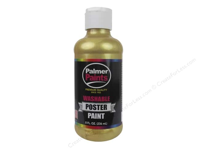 Palmer Washable Poster Paint 8 oz. Gold