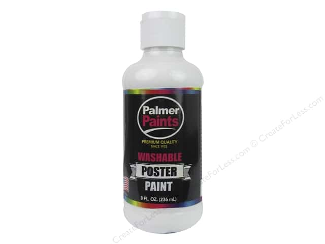 Palmer Washable Poster Paint 8 oz. White