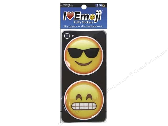 Everything Emoji Puffy Stickers Set 2