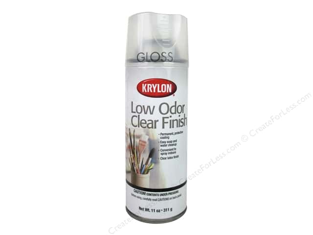 Krylon Low Odor Clear Finish 11 oz. Gloss