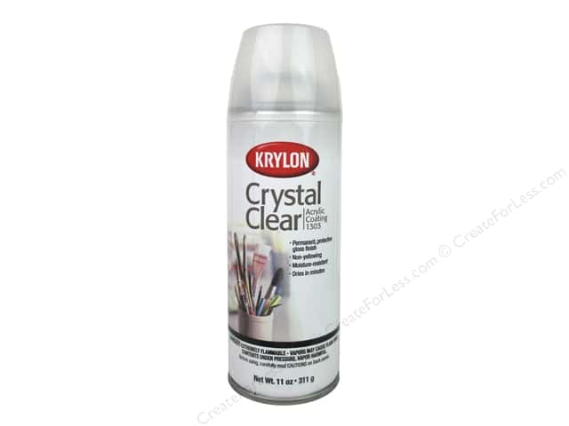 Krylon Crystal Clear Acrylic Coating 11 oz.
