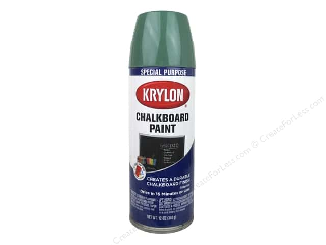 Krylon Chalk Board Paint 12 oz. Green